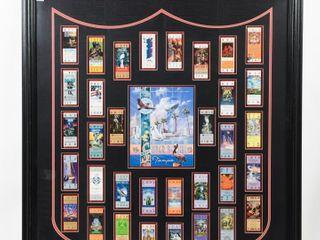 2001 NFl SUPER BOWl XXXV TAMPA FRAMED ADVERTISING