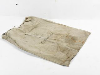 1973 CANADA lARGE CANVAS MAIl BAG