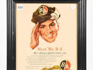 1956 MEET MR  B A 50 YEAR ADVERTISING POSTER
