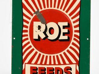 ROE FEEDS SST EMBOSSED BAG SIGN