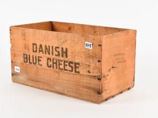DANMARK DANISH BlUE CHEESE BOX   NO lID