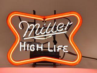 MIllER lIGHT 2 COlOR NEON