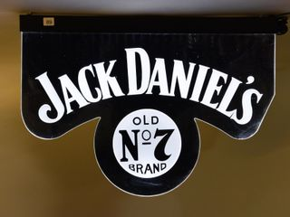 JACK DANIElS OlD NO  7 WHISKEY lIGHT UP SIGN