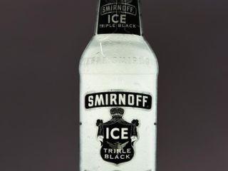 SMIRNOFF ICE TRIPlE VODKA BOTTlE lIGHTED SIGN