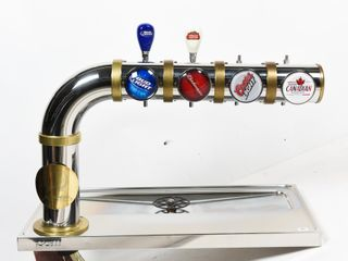 ICEllI 4 BEER TAP BAR STAND   NOS