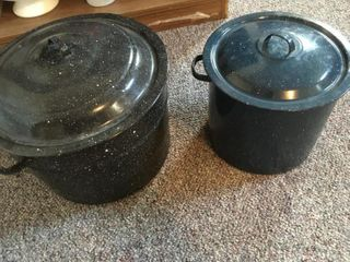 Enamelware Water Bath Canners