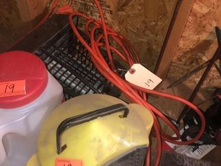 Bait bucket and Bug zapper