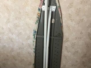 Metal ironing board