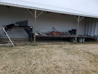 Corn Pro Trailer, JD Mower, Tools, plus Much More