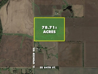 Harvey County) ABSOLUTE 78.71 +/- Acres of Recreational Land