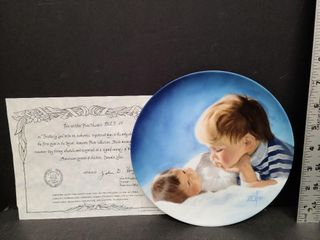 Brotherly Love Plate # 8528 H Special Moments