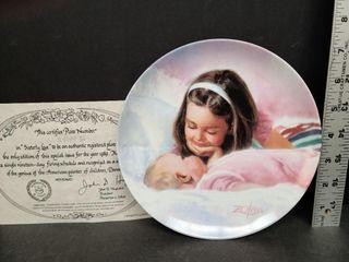 Sisterly Love Plate # 2559 B