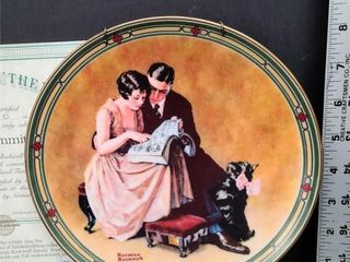 A Couple's Commitment # 2790 Norman Rockwell