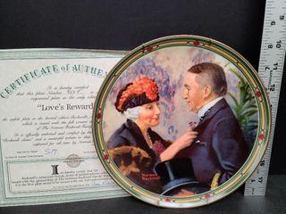 Love's Reward # 323F Norman Rockwell