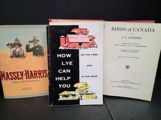 MasseyHarris/How Lye Can Help You/ Birds Of Canada