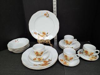 Miscellaneous Romanian Porcelain China Pieces