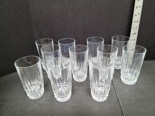 11 Tall Glasses