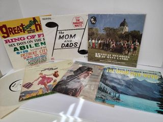 7 Old Time Records Including The Sound Of Music