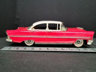 Chicko Fricton Toy Car Made In Japan Approx. 1954