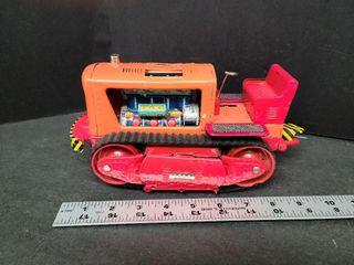 Tin Type Bull Dozer Made In Japan