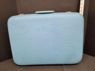 Vintage Mid Size Hard Travel Case