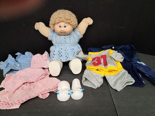 Cabbage Patch Girl & Clothes