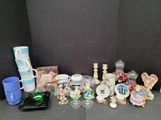 Assorted Nick Nacks & Cups
