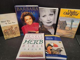 6 Books / Barbara Frum, Pamela Wallen & More