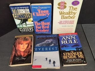 6 Books / The Wealthy Barber & More