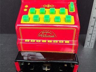 Tin Toy Cash Register