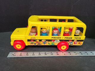 Fisher Price School Bus, Driver, Students