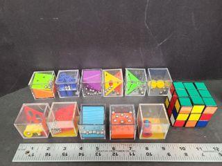 Rubik's Cube & 11 Mind Puzzles