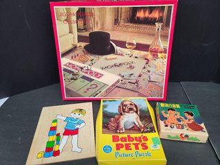 3 Kids & 1 Monopoly Puzzles