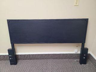 "59"" Wide Charcoal Blue Head Board To Match Dresser"