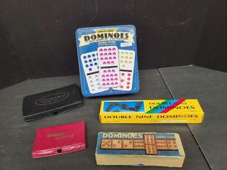 Collector Dominoes & Variety Of Dominoes Sets