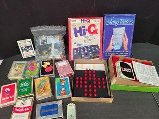 11 Decks Playing Cards, Hi-Q, Slang Teaser, Puzzle