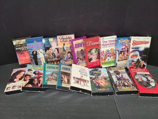 17 VHS Tapes