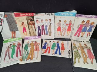 9 Butterick 7 Simplicity Sewing Patterns