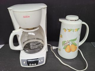 Sunbeam Coffee Maker & Coffee Carafe