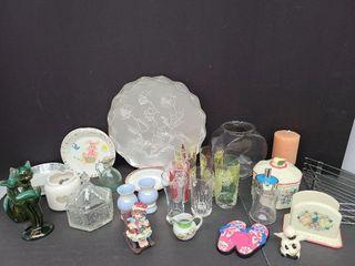 Assorted Kitchenware & Ornaments