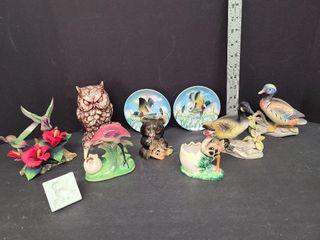 Misc. Ornaments & Owl Money Bank