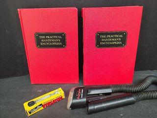 2 Handy Man Encyclopedias, Light & Versatool