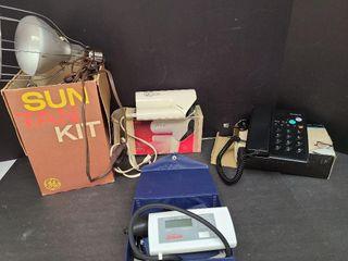 Sun Lamp, Hair Blower, Telephone, Blood Pressure