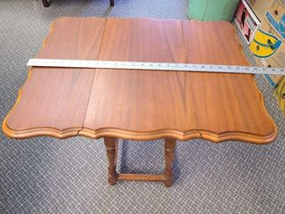 Antique Drop Leaf Side Table Mahogany?