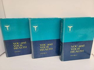 1970's You And Your Health Shryock Swartout 1,2&3