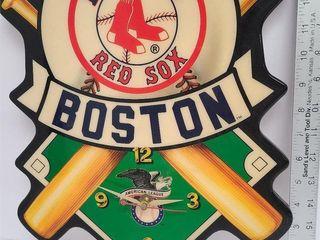 Boston Red Sox American League Clock
