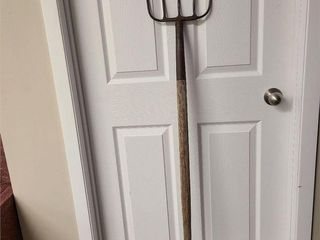 Green Acres Type Large 5 Prong Hay Pitch Fork