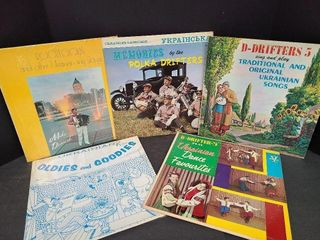5 Old Time Ukrainian Records