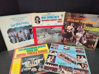 Five Old Time Ukrainian Records