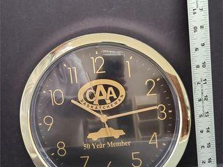 CAA Advertising Clock